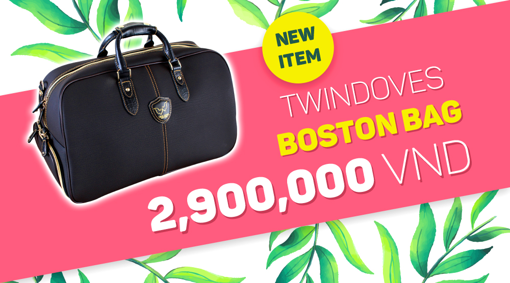 Promotion - Boston bag