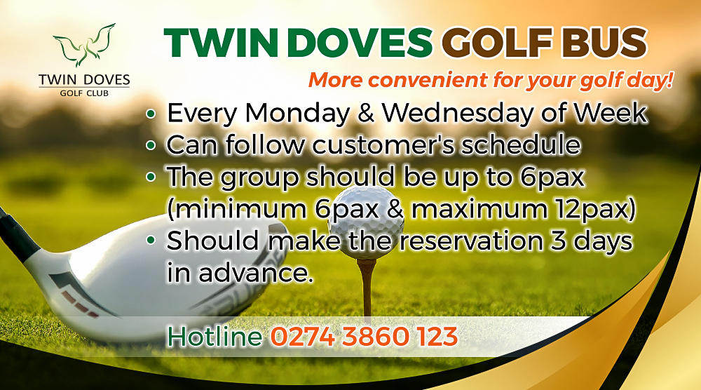 Promotion - Twin Doves Golf Bus