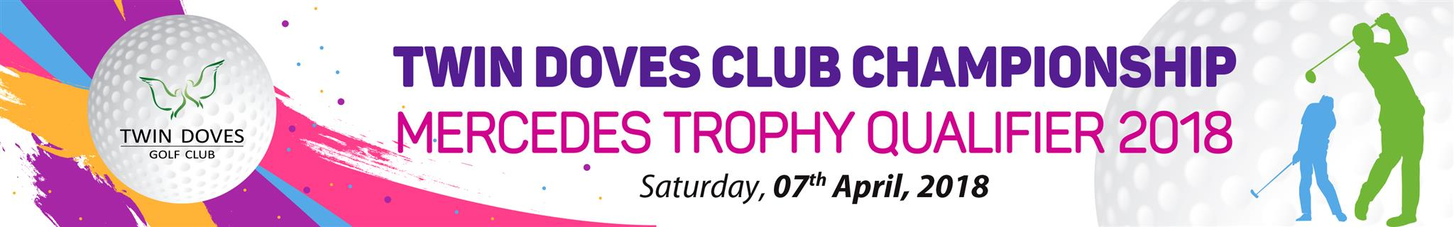 WELCOME ALL MEMBERS TO TWIN DOVES CLUB CHAMPIONSHIP 2018