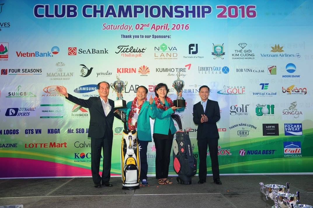 Result of Twin Doves Club Championship 2016